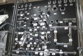 В наличие большой ассортимент трубодержателей разной формы и диаметра.